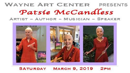 Wayne Art Center Patsie McCandless Exhibit