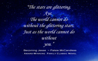 Light Lessons with Patsie McCandless: You & the glittering Stars