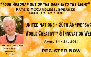 World Creativity & Innovation Week -Patsie McCandless, Speaker