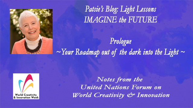UnitedNationsForum: ImaginingYrFutre-Patsie McCandless-Speaker