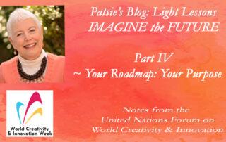 United Nations Forum-Speaker, Patsie McCandless- YourRoadmapYourPurpose
