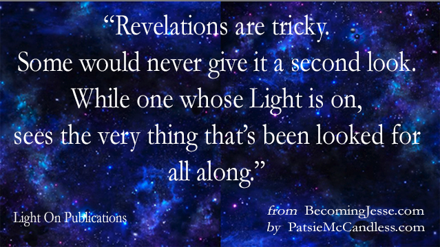 Revealing Your Light - Blog Light Lessons with Patsie McCandless