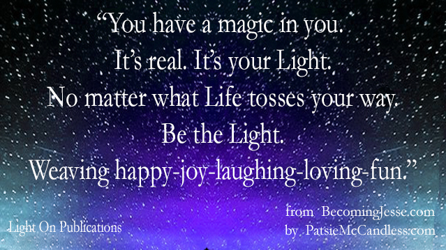 Light Lessons with Patsie McCandless: The Energy of Fun