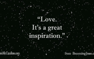 Light Lessons Blog with Patsie McCandless- LOVE RESONATES