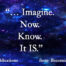 Light Lessons Blog#102 Imagination or What CAN BE by Patsie McCandless